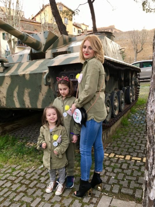 Lady Si Lifestyle Blog The little warriors with the military jacket Fashion Kids