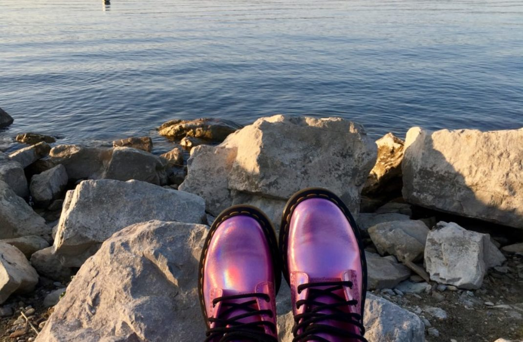 My new crush for Dr. Martens Pascal Metallic Pink