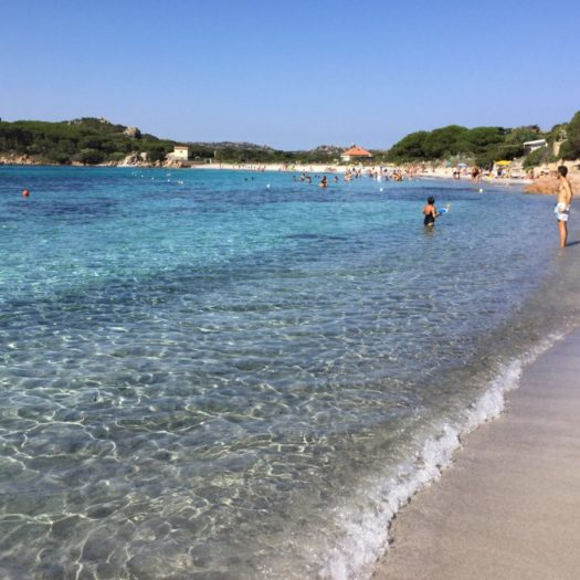 My first time in Sardinia