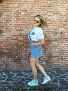 LadySi Lifestyle Blog How to wear a crop top Fashion