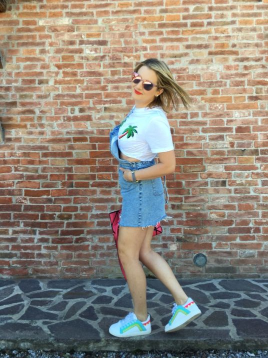 Lady Si Lifestyle Blog How to wear a crop top Fashion
